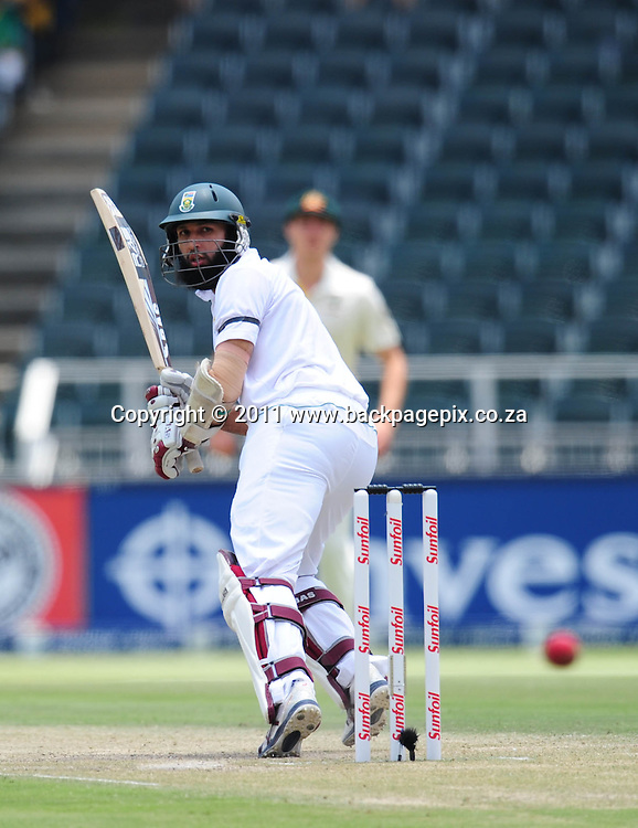 Hashim Amla of South Africa <br /> &copy; Barry Aldworth/Backpagepix