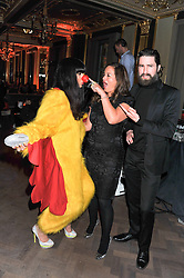Left to right, JAMEELA JAMIL, JADE JAGGER and JACK GUINNESS at the Baileys Spirited Women party at Cafe Royal Hotel, Regent's Street, London on 21st March 2013.