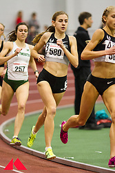 Womens Invitational Mile at BU Terrier Indoor Track; Mary Cain