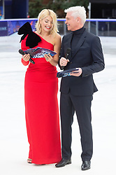 © Licensed to London News Pictures. 18/12/2018. London, UK. Holly Willoughby and Phillip Schofieldattend a photocall for the launch of ITV's Dancing On Ice new series. Photo credit: Ray Tang/LNP
