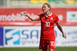 LARNACA, CYPRUS - Wednesday, March 7, 2018: Wales' Jessica Fishlock during the Cyprus Women's Cup match between Austria and Wales on day nine of the Cyprus Cup tournament at the AEK Arena - Georgios Karapatakis. (Pic by David Rawcliffe/Propaganda)