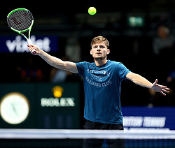 November 15, 2017 - Londres, Grande Bretagne - Great Britain - London - NITTO ATP FINALS 2017- 12/11 - 19/11/2017 -  Belgian player David Goffin (Credit Image: © Panoramic via ZUMA Press)
