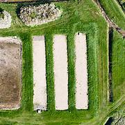prise de vue au drone des marais d'Angoulins et de la plage d'Aytré en Charente-Maritime