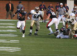 Wali Lundy (33)..The Virginia Cavaliers defeated the Western Michigan Broncos 31-19 on September 3, 2005 at Scott Stadium in Charlottesville, VA.
