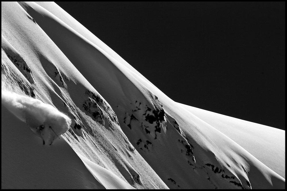 Rider: Dominique Perret.Location: Alyeska (Alaska/USA)
