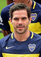 Argentina Football League First Division - Axion Energy 2016-2017 / <br /> Club Atletico Boca Juniors - <br /> Fernando Gago