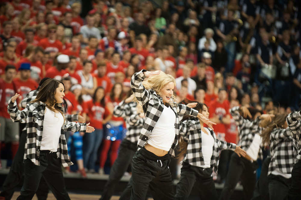 Kraziness in the Kennel gave thousands a chance to see this year's men's basketball team in action.  Gonzaga celebrated its first Zagapalooza, welcoming thousands of alumni to campus to celebrate the 125th Anniversary of the University.<br /> <br /> Photo by Rajah Bose