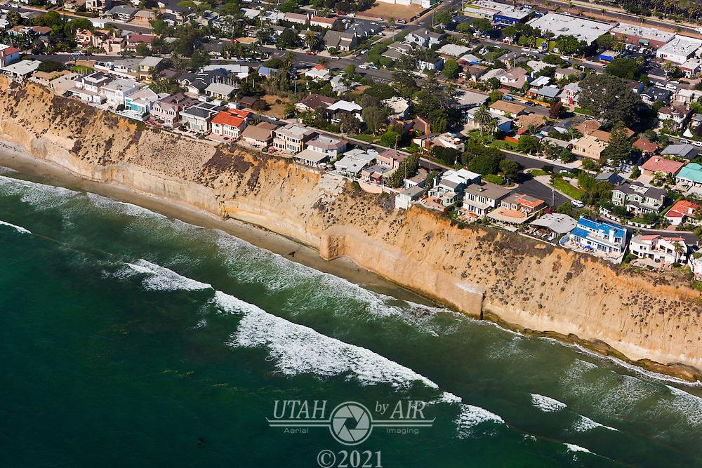 A beach on the California Coastline
