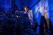 Single Atom Microscope feature photographed at IBM Research Almaden campus in San Jose, California, on February 28, 2017. (Stan Olszewski/SOSKIphoto)