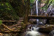 """Shy Waterfall"" hidden in a gorge in Belasitsa Mountains"