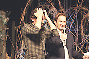 Rob Benedict (Chuck) and Richard Speight Jr (Gabriel/Trickster), Salute to Supernatural Las Vegas 2014