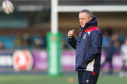 Bristol Rugby Head Coach Mark Tainton - Rogan Thomson/JMP - 21/01/2017 - RUGBY UNION - Cardiff Arms Park - Cardiff, Wales - Cardiff Blues v Bristol Rugby - EPCR Challenge Cup.