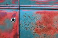 USA, California, Eastern Sierra,Mono County,Bodie State Historic Park, car detail