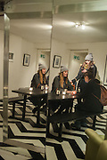 BELLA BELENKINSOPP; CHARLIE CARR-GOM; CECILIA KNAPP, Scarlett Carlos Clarke presents 'Other Rooms ..The Photography of Steph Hartop. The Society Club, Ingestre Place. Soho, London. 3 April 2013.