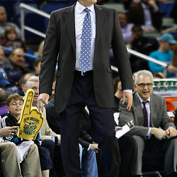 February 7, 2011; New Orleans, LA, USA; Minnesota Timberwolves head coach Kurt Rambis against the New Orleans Hornets during the fourth quarter at the New Orleans Arena. The Timberwolves defeated the Hornets 104-92.  Mandatory Credit: Derick E. Hingle