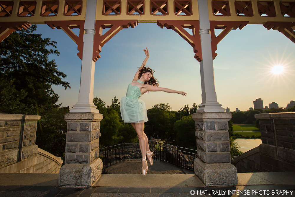 Belevedere Castle Central Park, New York, NY. Dance As Art Featuring Dancer Chelsea Stembridge.