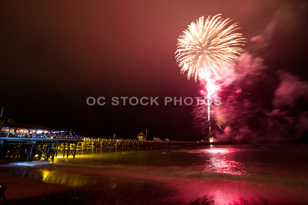 4th of July Fireworks in San Clemente
