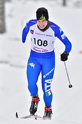 TONINELLI Cristian, ITA, LW8 at the 2018 ParaNordic World Cup Vuokatti in Finland