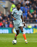 Antonio Rudiger (2) of Chelsea during the Premier League match between Cardiff City and Chelsea at the Cardiff City Stadium, Cardiff, Wales on 31 March 2019.