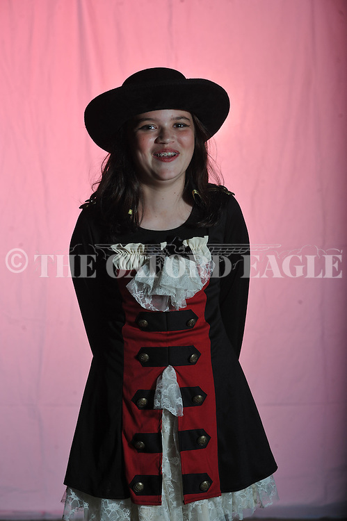 Neely Mullen poses on Halloween in Oxford, Miss. on Wednesday, October 31, 2012.