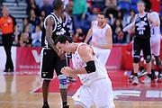 DESCRIZIONE : Pesaro Lega A 2013-14 VL Pesaro Granarolo Bologna<br /> GIOCATORE : Andrea Pecile<br /> CATEGORIA : esultanza scelta<br /> SQUADRA : VL Pesaro Granarolo Bologna<br /> EVENTO : Campionato Lega A 2013-2014<br /> GARA : VL Pesaro Granarolo Bologna<br /> DATA : 27/04/2014<br /> SPORT : Pallacanestro <br /> AUTORE : Agenzia Ciamillo-Castoria/C.De Massis<br /> Galleria : Lega Basket A 2013-2014  <br /> Fotonotizia : Pesaro Lega A 2013-14 VL Pesaro Granarolo Bologna<br /> Predefinita :