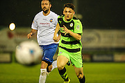 Giancarlo Gabbiadini during the Glos Senior Cup Final match between Forest Green Rovers and Bishops Cleeve at the New Lawn, Forest Green, United Kingdom on 2 May 2016. Photo by Shane Healey.
