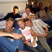 Miss Nederland 2003 reis Turkije, organisator Hans Konings en Elise Boulogne