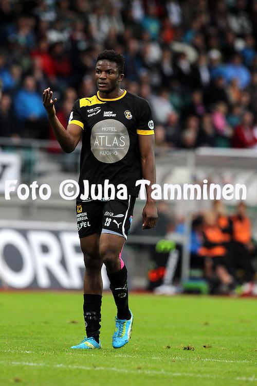 2.9.2012, Wiklof Holding Arena, Mariehamn / Maarianhamina..Veikkausliiga 2012..IFK Mariehamn - Kuopion Palloseura..Etchu Tabe - KuPS