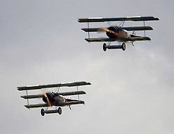 Great War 1914-1918  IWM, The Duxford Air Show.  Sunday 14th September 2014