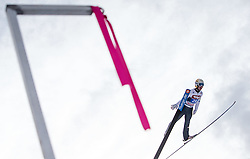 04.01.2015, Bergisel Schanze, Innsbruck, AUT, FIS Ski Sprung Weltcup, 63. Vierschanzentournee, Innsbruck, 1. Wertungssprung, im Bild Thomas Diethart (AUT) // Thomas Diethart of Austria soars trought the air during his first competition jump for the 63rd Four Hills Tournament of FIS Ski Jumping World Cup at the Bergisel Schanze in Innsbruck, Austria on 2015/01/04. EXPA Pictures © 2015, PhotoCredit: EXPA/ JFK