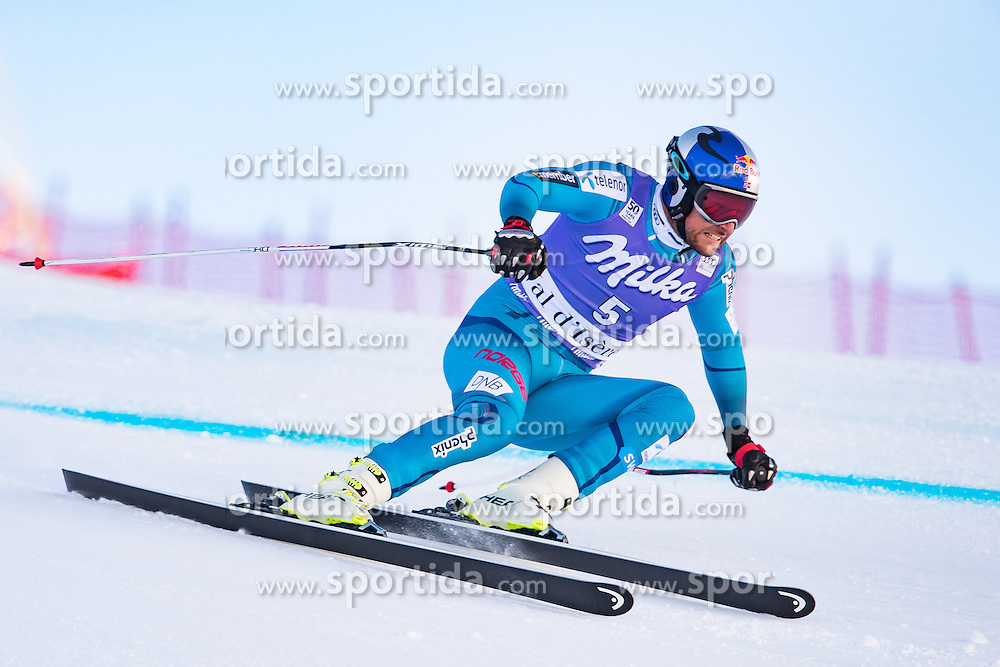 02.12.2016, Val d Isere, FRA, FIS Weltcup Ski Alpin, Val d Isere, Super G, Herren, im Bild Aksel Lund Svindal (NOR, 2. Platz) // second placed Aksel Lund Svindal of Norway in action during the race of men's SuperG of the Val d'Isere FIS Ski Alpine World Cup. Val d'Isere, France on 2016/02/12. EXPA Pictures © 2016, PhotoCredit: EXPA/ Johann Groder