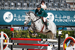 HRH Prince Al Saud Abdullah (KSA) - Davos<br /> Furusiyya FEI Nations Cup Jumping Final Round 1<br /> CSIO Barcelona 2013<br /> © Dirk Caremans
