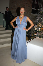 Model YASMIN LE BON at a Christmas party to celebrate the 225th Anniversary of Asprey held at their store 167 New Bond Street, London on 7th December 2006.<br /><br />NON EXCLUSIVE - WORLD RIGHTS