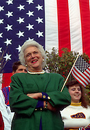 A 29.4 MG IMAGE OF:..Barbara Bush..Photo by Dennis Brack