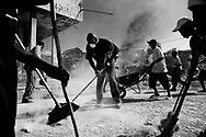 Earthquake in Haiti 2010,<br /> People clean the streets.
