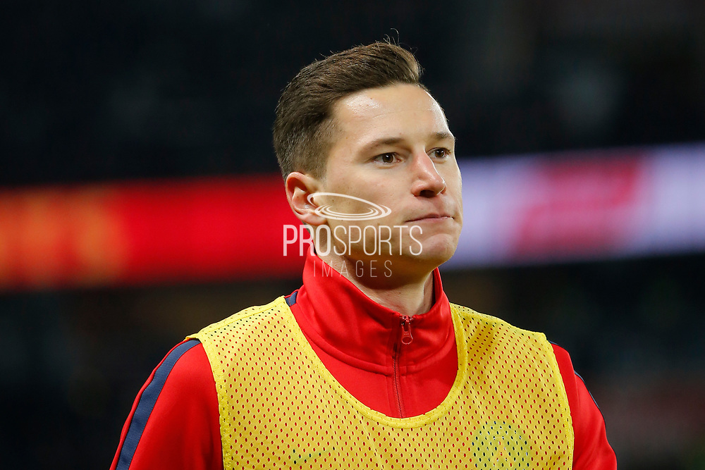 Julian Draxler (PSG) at warm up while the second periode during the French Championship Ligue 1 football match between Paris Saint-Germain and ESTAC Troyes on November 29, 2017 at Parc des Princes stadium in Paris, France - Photo Stephane Allaman / ProSportsImages / DPPI