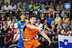 Toon Leenders of Nederland during friendly handball match between Slovenia and Nederland, on October 25, 2019 in Športna dvorana Hardek, Ormož, Slovenia. Photo by Blaž Weindorfer / Sportida