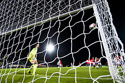 October 5, 2017 - San Marino, SAN MARINO - 171005 Mohamed Elyounoussi of Norway scores 4-0 on a free kick behind goalkeeper Aldo Junior Simoncini of San Marino during the FIFA World Cup Qualifier match between San Marino and Norway on October 5, 2017 in San Marino. .Photo: Fredrik Varfjell / BILDBYRN / kod FV / 150027 (Credit Image: © Fredrik Varfjell/Bildbyran via ZUMA Wire)