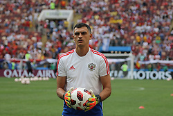 July 1, 2018 - Moscow, Russia - July 01, 2018, Russia, Moscow, FIFA World Cup 2018, the playoff round. Football match Spain - Russia at the stadium Luzhniki. Player of the national team Alexander Gabulov. (Credit Image: © Russian Look via ZUMA Wire)
