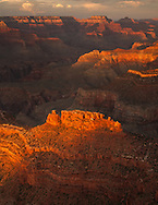Powell Point, sunset, Grand Canyon, National Park, AZ