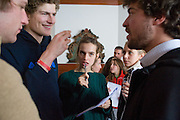 FELIZ LOBKOWITZ; MAX SPOERCKEN; ISABELLA GAETANI; JOANNA OTTO. Treasure Hunt in aid of the Knights of Malta,  St. Moritz, Switzerland. 23 January 2009 *** Local Caption *** -DO NOT ARCHIVE-© Copyright Photograph by Dafydd Jones. 248 Clapham Rd. London SW9 0PZ. Tel 0207 820 0771. www.dafjones.com.<br /> FELIZ LOBKOWITZ; MAX SPOERCKEN; ISABELLA GAETANI; JOANNA OTTO. Treasure Hunt in aid of the Knights of Malta,  St. Moritz, Switzerland. 23 January 2009