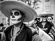 Maru Montero Dance Company members at Day of the Dead celebration at the National Portrait Gallery in Washington, DC
