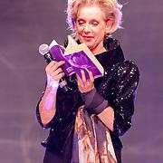 NLD/Amsterdam/20121111 - Celebrationshow Addy van den Krommenacker, Jette van der Meij leest gedicht voor