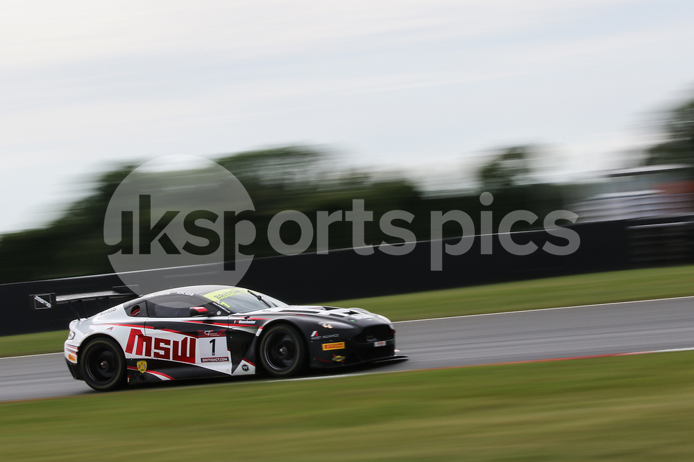 TF Sport Aston Martin Vantage GT3 with drivers Derek Johnston & Jonny Adam during the British GT And BRDC British F3 Championships at the Snetterton Circuit, Norwich, England on 28 May 2017. Photo by Jurek Biegus.