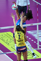 09-12-2017 ITA: Igor Gorgonzola Novara - Imoco Volley Conegliano, Novara<br /> Celeste Plak #4 of Novara<br /> <br /> *** Netherlands use only ***