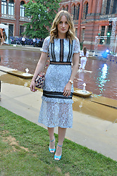 Rosie Fortescue at the V&A Summer Party 2017 held at the Victoria & Albert Museum, London England. 21 June 2017.<br /> Photo by Dominic O'Neill/SilverHub 0203 174 1069 sales@silverhubmedia.com