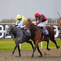 Glastonberry and Hayley Turner winning the 5.15 race