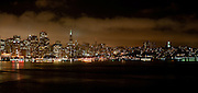 San Francisco City Scape at Night