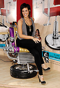 Season 2 contestant Gail poses at the Bravo 'Shear Genius' Times Square Salon on the Military Island in Times Square in New York City, USA on June 24, 2008.