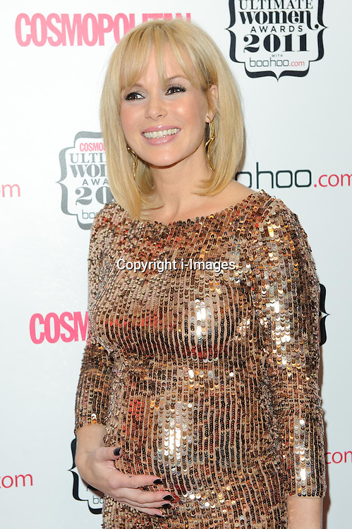 Amanda Holden at Cosmopolitan's Ultimate Women Awards 2011 in London, Thursday, November 3rd 2011.  Photo by: i-Images